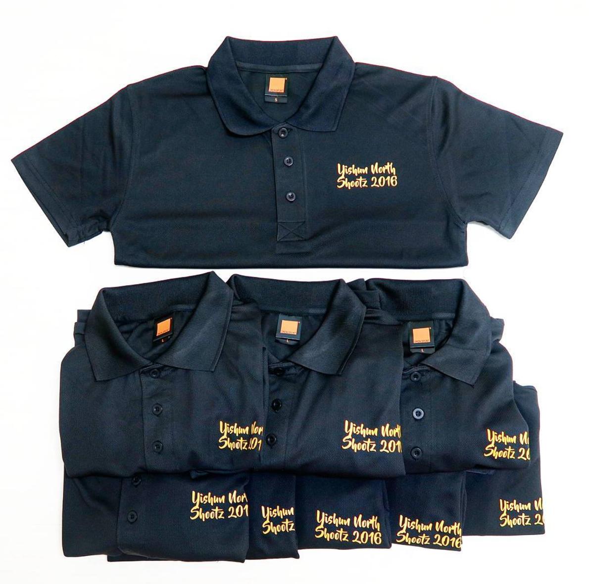 Customise drifit polo t-shirt sample