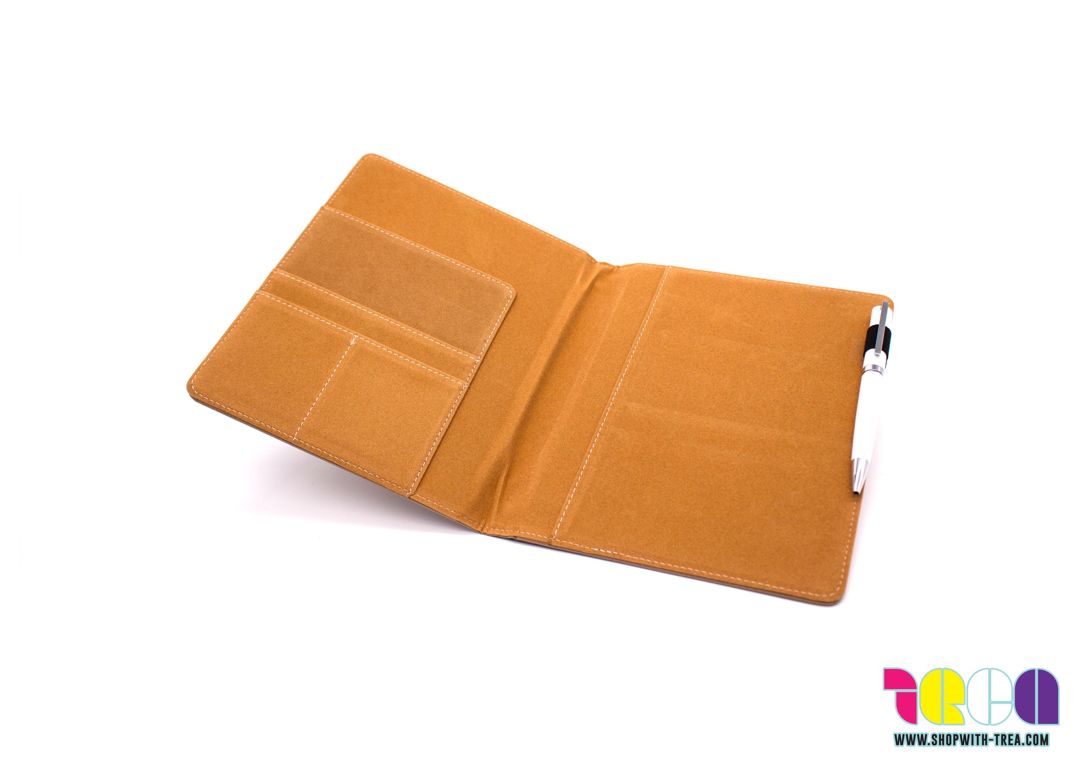 a5 notebook cover pu