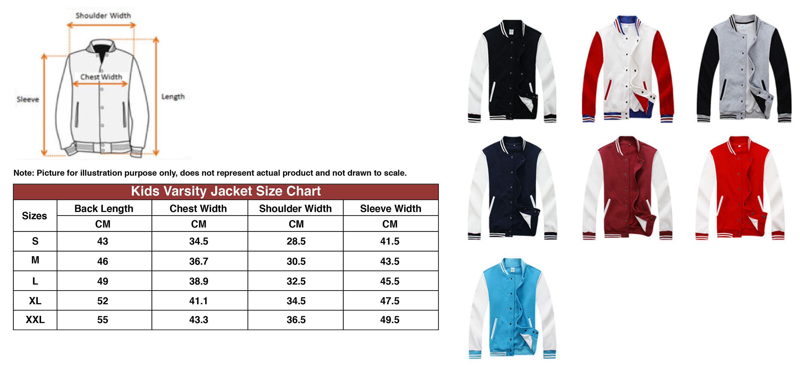 varsity jacket printing