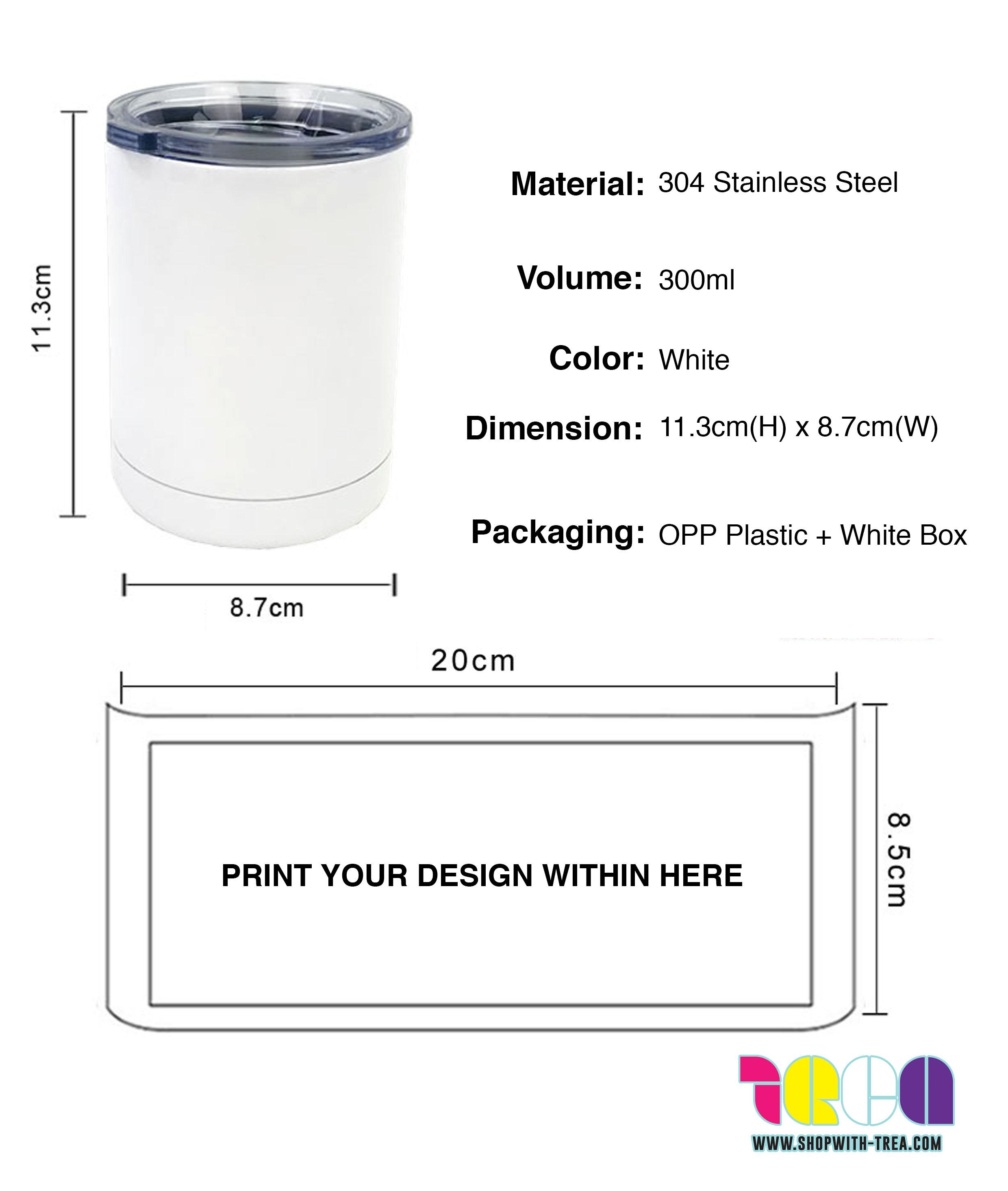 vacuum flask tumbler printing