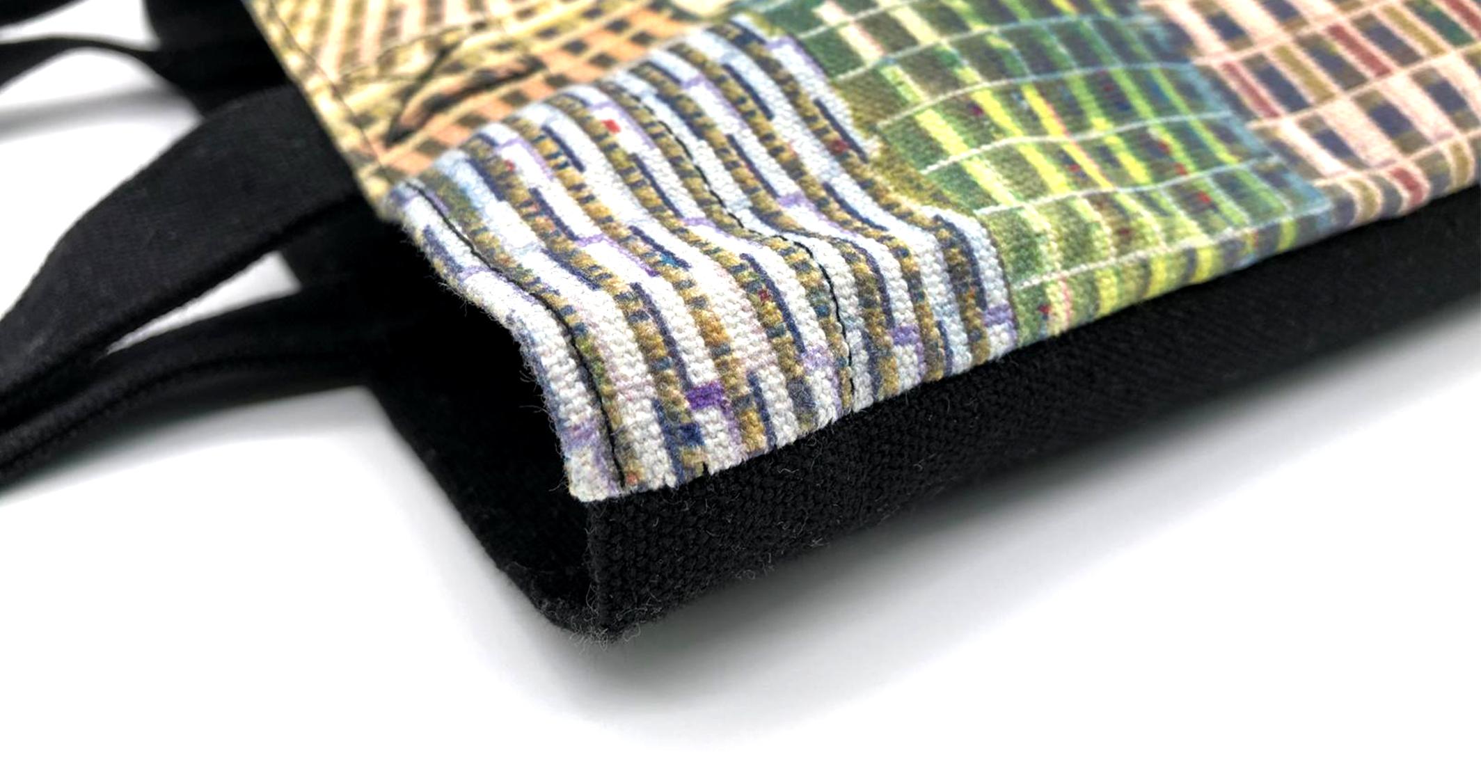 Full surface DTG printing customised tote bag
