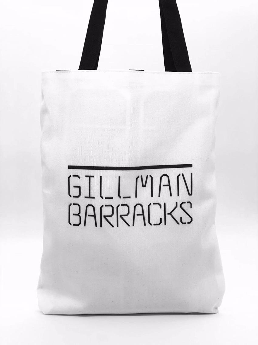 gilman barracks tote bag